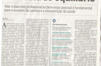 Claudia Klein no jornal O Globo